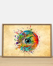 Eye colorful 36x24 Poster poster-landscape-36x24-lifestyle-03