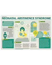 Neonatal abstinence 17x11 Poster front