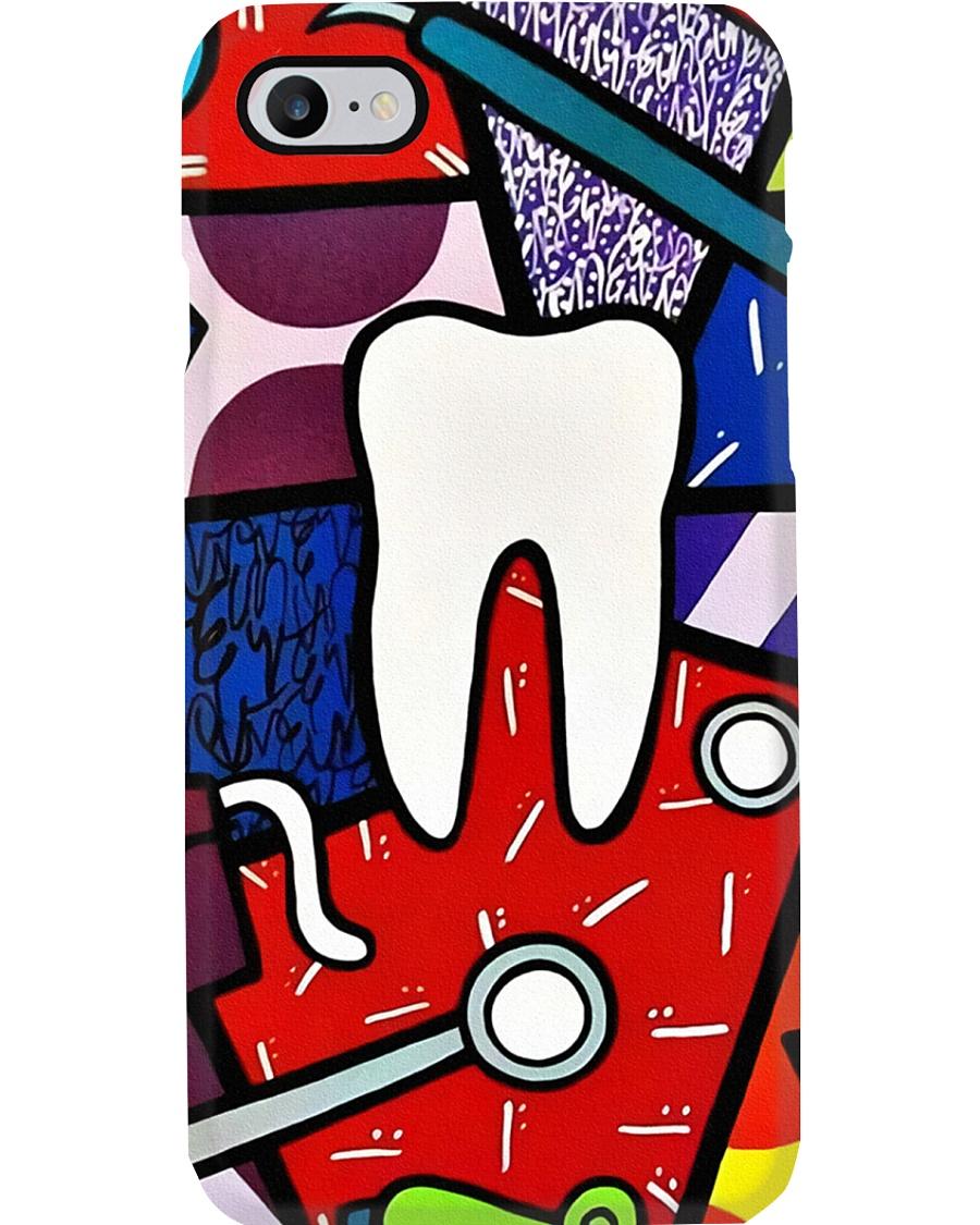 dentist case cartoon Phone Case