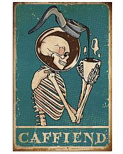 caffiend 11x17 Poster front