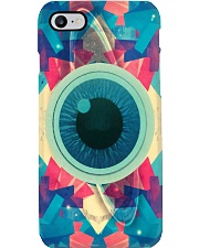 Psychedelic Abstract Eye phonecase Phone Case i-phone-8-case