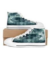 xray-teeth Men's High Top White Shoes thumbnail
