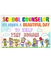 Counselor Beautiful Day 17x11 Poster front