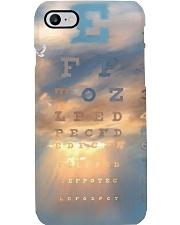 sky eye chart Phone Case i-phone-8-case