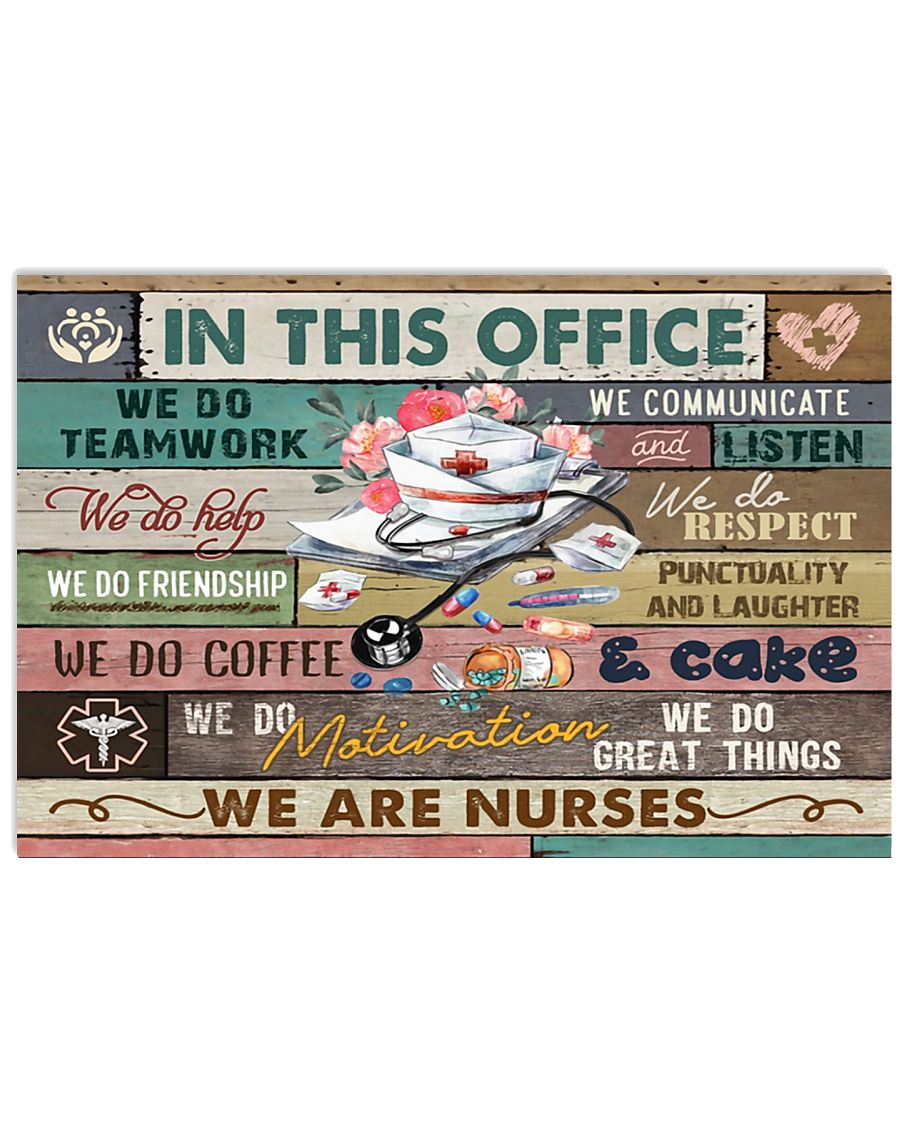 nurse-poster-office 17x11 Poster