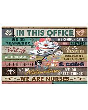 nurse-poster-office 17x11 Poster front