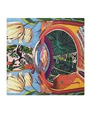 eye abstract mask 2  Square Coaster thumbnail