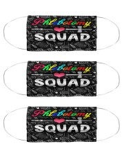 squad blk mask phlebotomy Cloth Face Mask - 3 Pack front