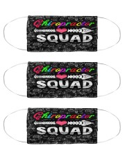 squad blk mask chiropractor Cloth Face Mask - 3 Pack front