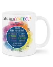 Control counselor mug dvhd-dqh Mug front