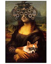 Mona phoropter dog 24x36 Poster front