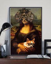 Mona phoropter dog 24x36 Poster lifestyle-poster-2