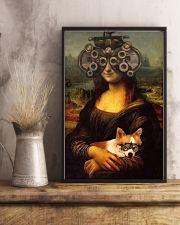 Mona phoropter dog 24x36 Poster lifestyle-poster-3