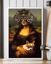 Mona phoropter dog 24x36 Poster lifestyle-poster-4