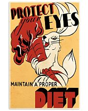 protect-eye 24x36 Poster front
