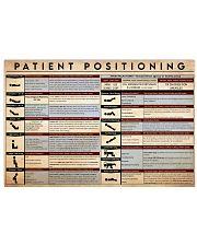 patient position 17x11 Poster front