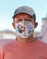 paramedic crazy enough mas Cloth Face Mask - 3 Pack aos-face-mask-lifestyle-06