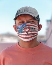 peace flag mask optometrist Cloth Face Mask - 3 Pack aos-face-mask-lifestyle-06
