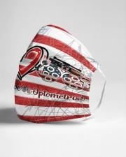 peace flag mask optometrist Cloth Face Mask - 3 Pack aos-face-mask-lifestyle-21