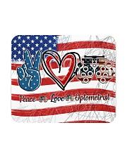 peace flag mask optometrist Mousepad thumbnail