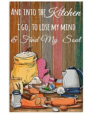 baking find my soul  11x17 Poster front