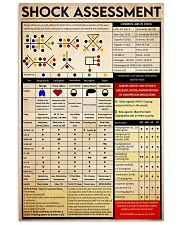 shock assessment 24x36 Poster front