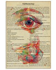 Eye-text-watercolor 11x17 Poster front