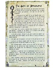 doctor oath 11x17 Poster front