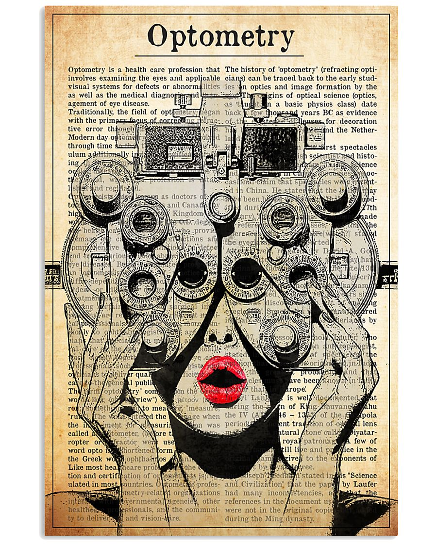 optometry-phoropter 24x36 Poster