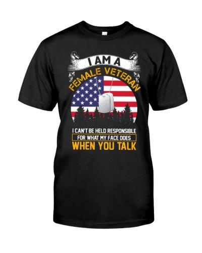 female veteran when you talk