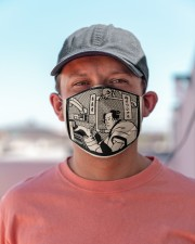 dentist samurai mask Cloth Face Mask - 3 Pack aos-face-mask-lifestyle-06