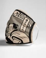 dentist samurai mask Cloth Face Mask - 3 Pack aos-face-mask-lifestyle-21