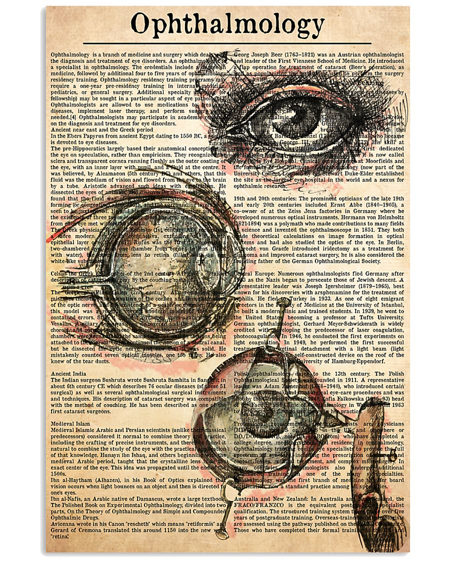 ophthalmology-text 11x17 Poster