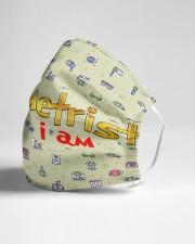 optometrist I am mas  Cloth Face Mask - 3 Pack aos-face-mask-lifestyle-21
