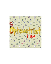 optometrist I am mas  Square Magnet thumbnail