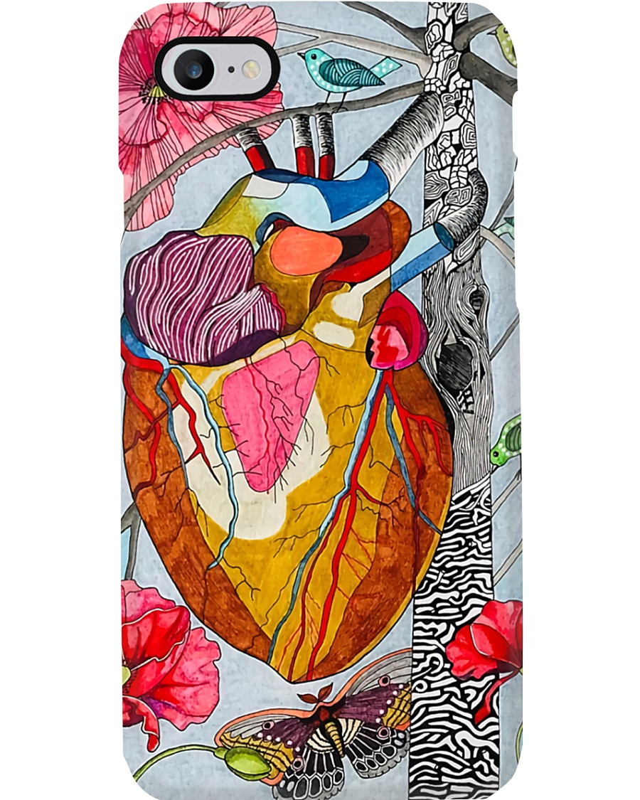 heart abstract Phone Case
