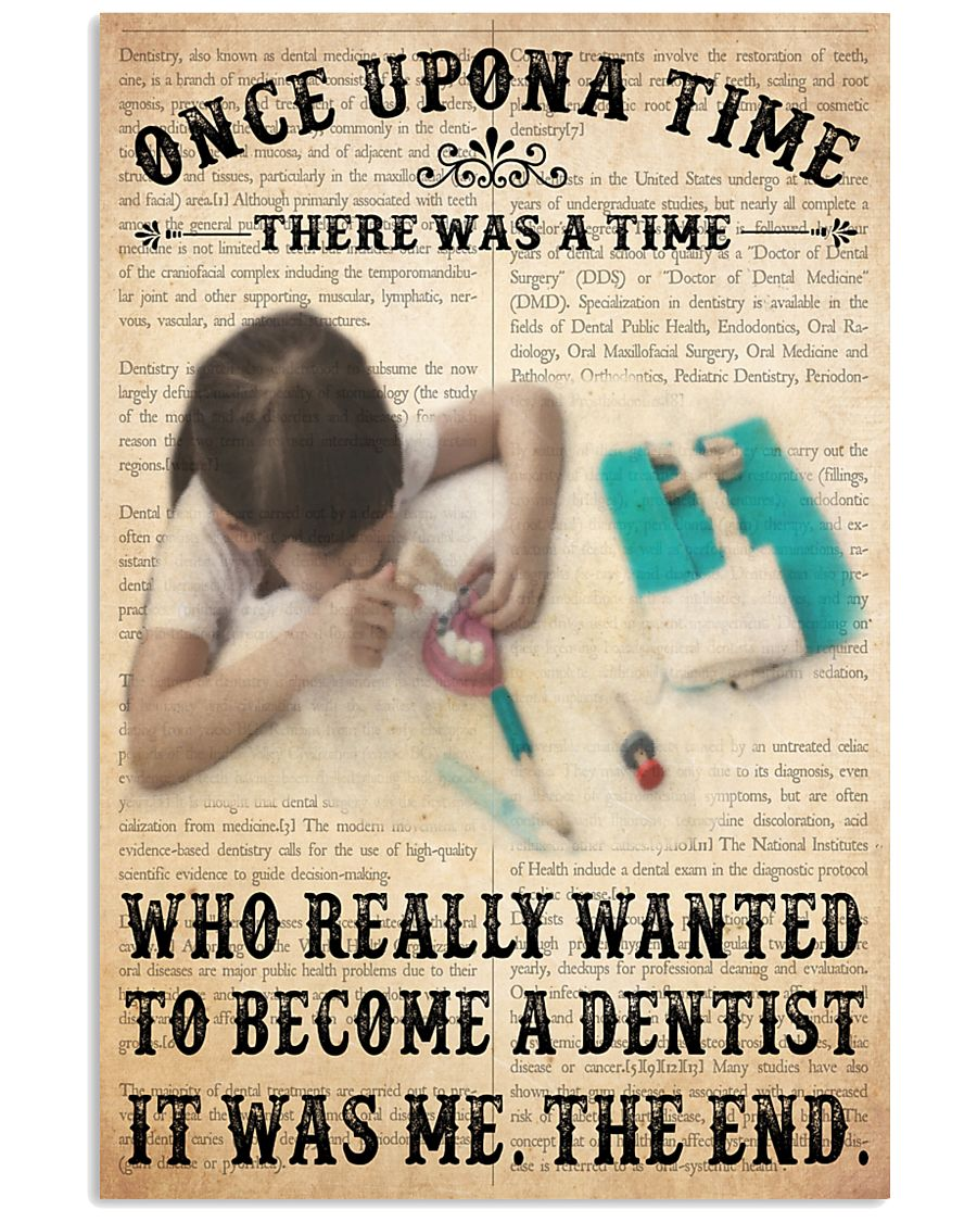 once upon dentist 11x17 Poster