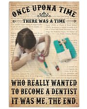 once upon dentist 11x17 Poster front