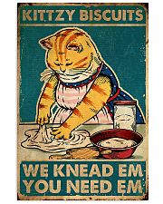 cat kittzy biscuits 24x36 Poster front