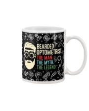 bearded optometrist mas  Mug tile