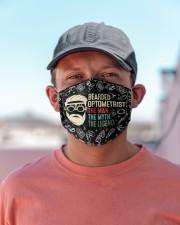 bearded optometrist mas  Cloth Face Mask - 3 Pack aos-face-mask-lifestyle-06