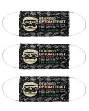 bearded optometrist mas  Cloth Face Mask - 3 Pack front