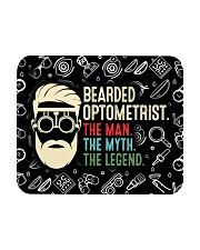 bearded optometrist mas  Mousepad tile