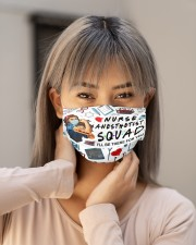 mas squad nurse anesthetist Cloth Face Mask - 3 Pack aos-face-mask-lifestyle-18