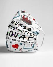 mas squad nurse anesthetist Cloth Face Mask - 3 Pack aos-face-mask-lifestyle-21