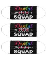 dental squad mask  Cloth Face Mask - 3 Pack front