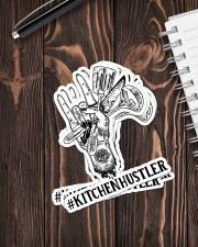 Sticker Hustler Kitchen Sticker - 4 pack (Vertical) aos-sticker-4-pack-vertical-lifestyle-front-05