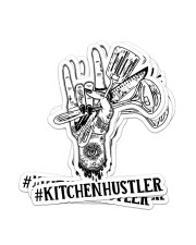 Sticker Hustler Kitchen Sticker - 4 pack (Vertical) front