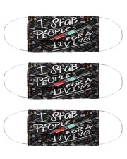 Phlebo stab mas Cloth Face Mask - 3 Pack front
