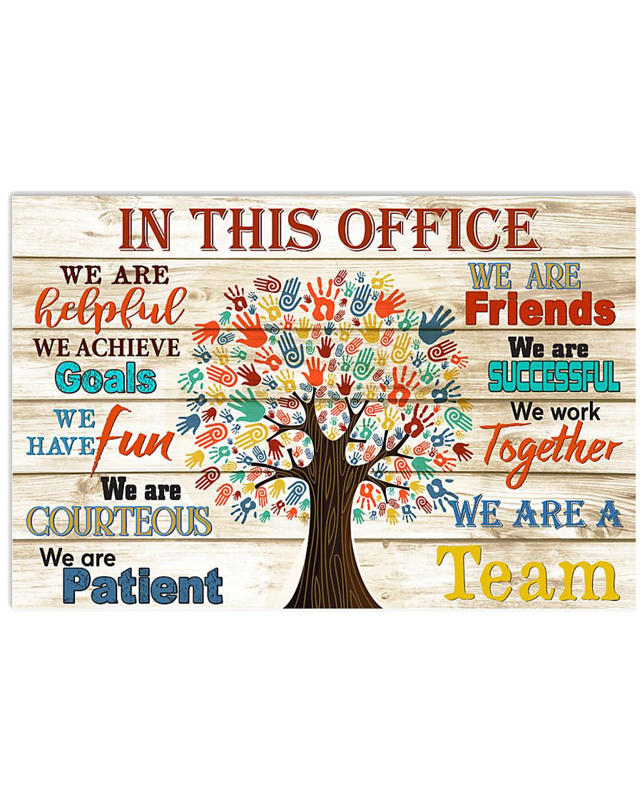Physical Therapist this office tree 17x11 Poster